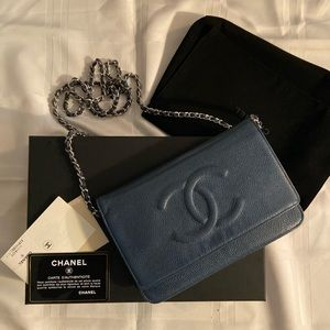 CHANEL TIMELESS WALLET ON CHAIN